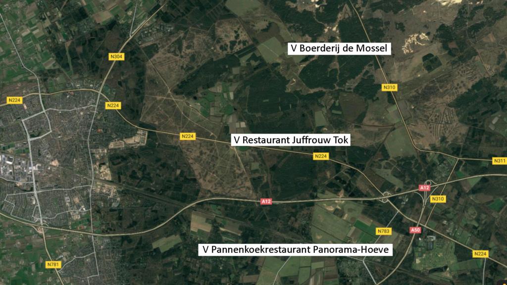 Restaurants op de Veluwe waar je met je paard kan lunchen.